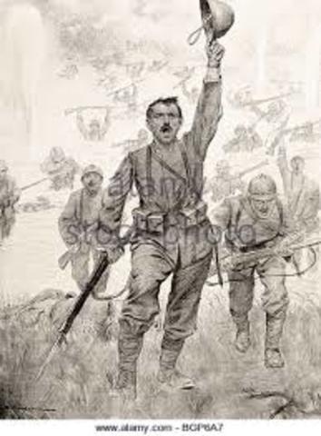 Combates encarnizados en el Isonzo.