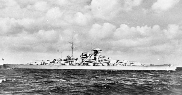 Bismarck sunket