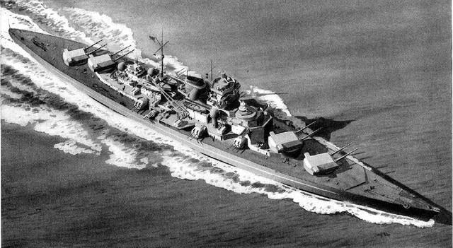 Tirpitz sunket