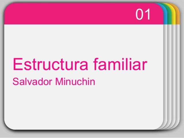 La estructura del sistema familiar Minuchin