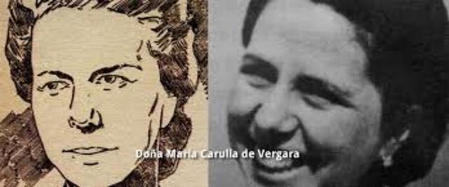 María Carulla interpretó con claridad El trabajo Social  en Colombia