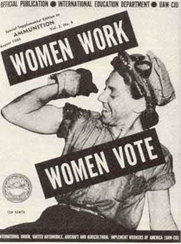 se aprueba la ley de sufragio femenino