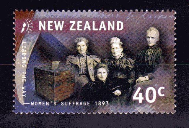 voto femenino en Nueva Zelanda