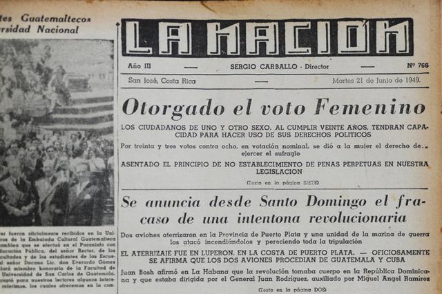 derecho al voto para la mujer Uruguaya