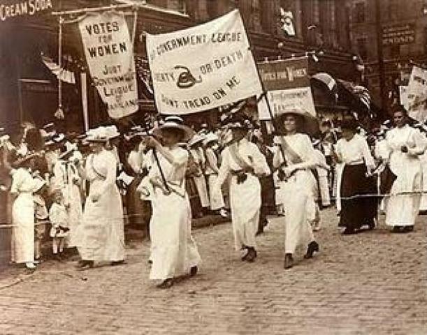 primeros movimientos feministas