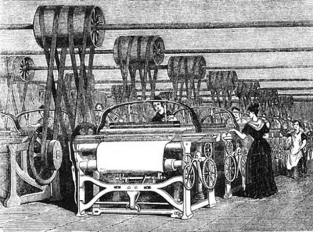 El telar y la máquina de hilar