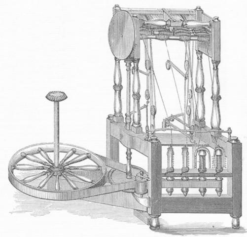 Primeros inventos de la revolución industrial