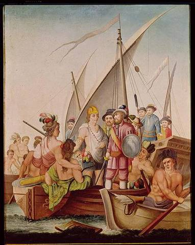 Arrival of the Spaniards