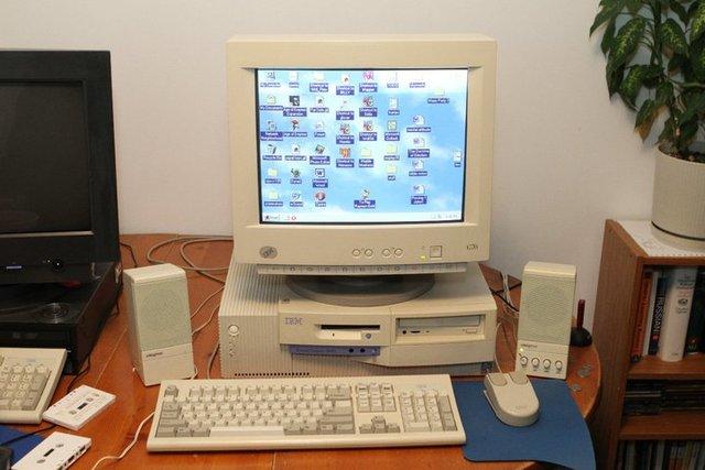 IBM РС  с процессором Pentium.