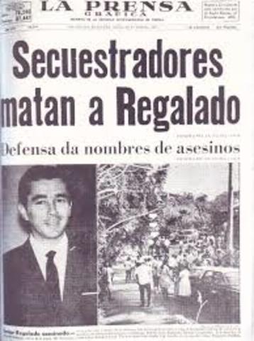 Secuestró y muerte del empresario Ernesto Regalado Dueñas