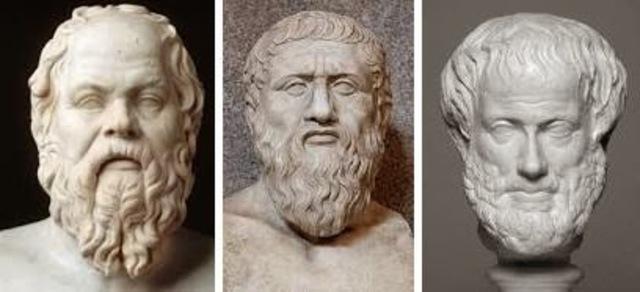 Primeras pruebas de la orientación en la cultura clásica griega (siglos V y IV a.C)