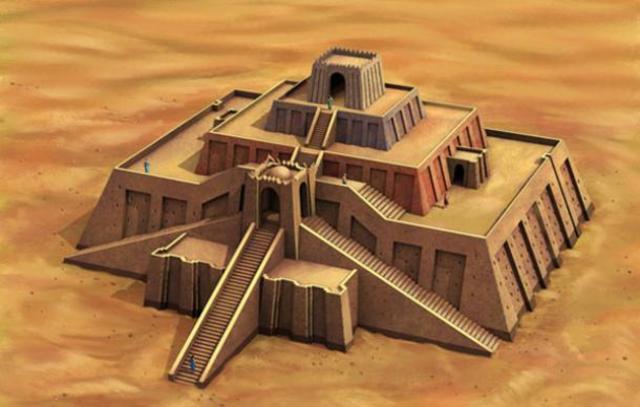 Mesopotamia-Architecture- Ziggurat (pg.68)
