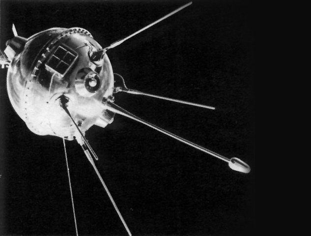 Luna 1 - Sovjetisk rumsonde