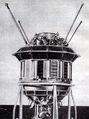 Luna 3 - Sovjetisk rumsonde