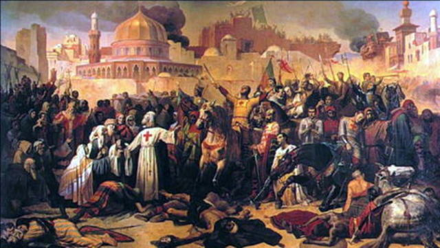The first Crusades