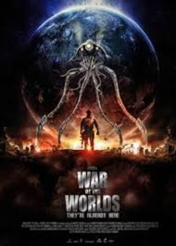 publicación la guerra de los mundos
