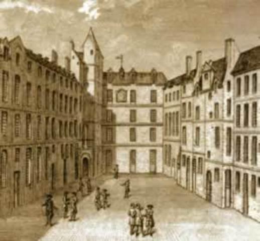 Creation of the Collège de Montaigu