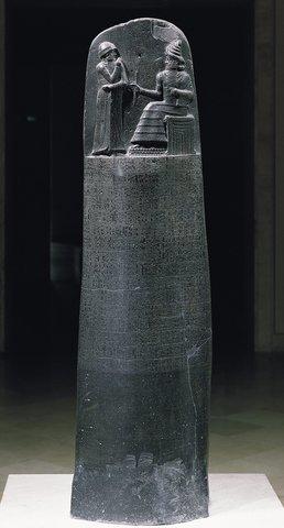 Mesopotamia-Hammurabi's Code-Laws about everyday life (pg.73)