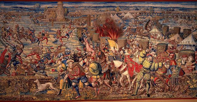 Batalla de Pavía.