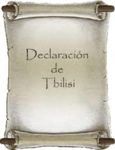 Conferencia de Tibilisi