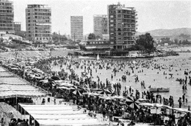 Boom Turistico  1950 - 1973