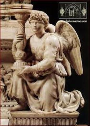 angel del arca de santo domingo