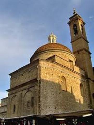 la nueva capilla de los medici y la sacristía nueva de la basilica san lorenzo