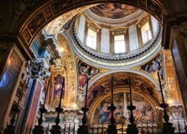 capilla sforza en la basilica de santa maria la mayor