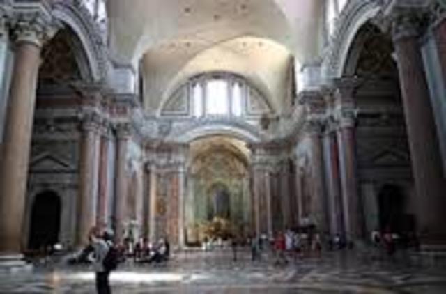 basilica de santa maria degli angeli e dei martini