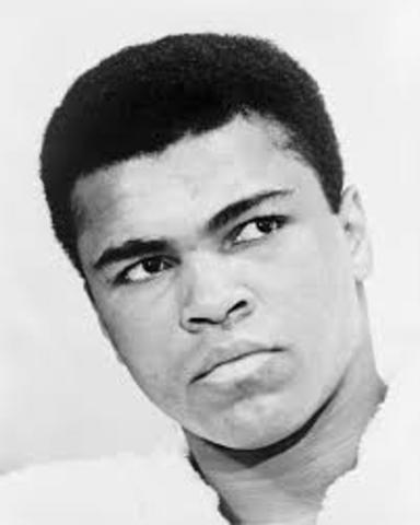 Last straw for Ali and the Nation of Islam