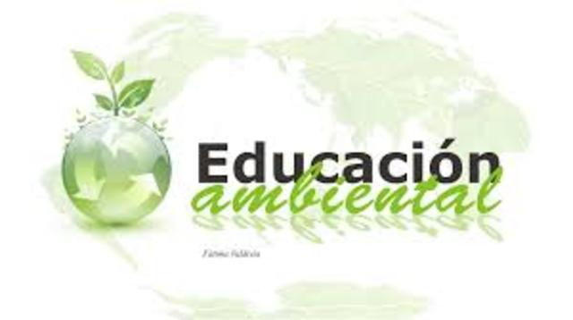 Creación del consejo Nacional de Educación Ambiental para la sustentabilidad.