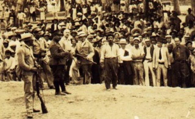 Primer levantamiento comunista