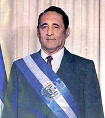 Es electo presidente José Napoleón Duarte