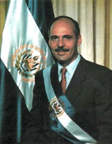 Alfredo Cristiani Presidente