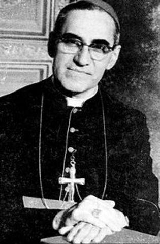 Asesinato del Arzobispo de San Salvador