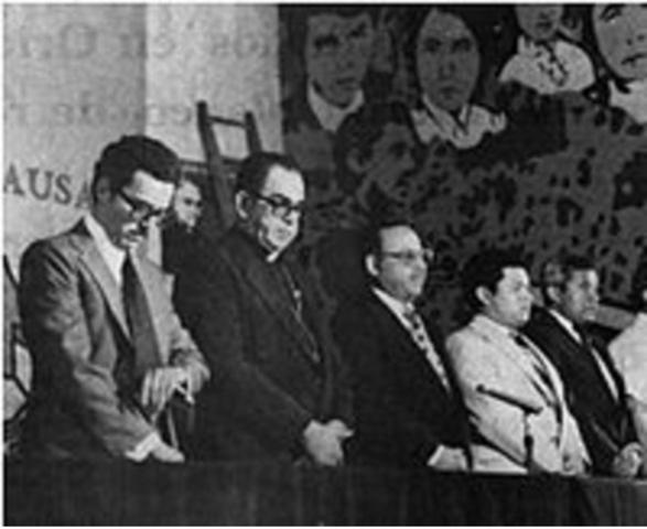 FMLN se comprometen en Ginebra, Suiza, ante el Secretario General de la ONU
