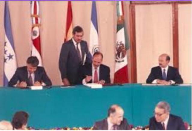 Se firmó el acuerdo de Ciudad de México, donde se dieron por finalizadas las negociaciones