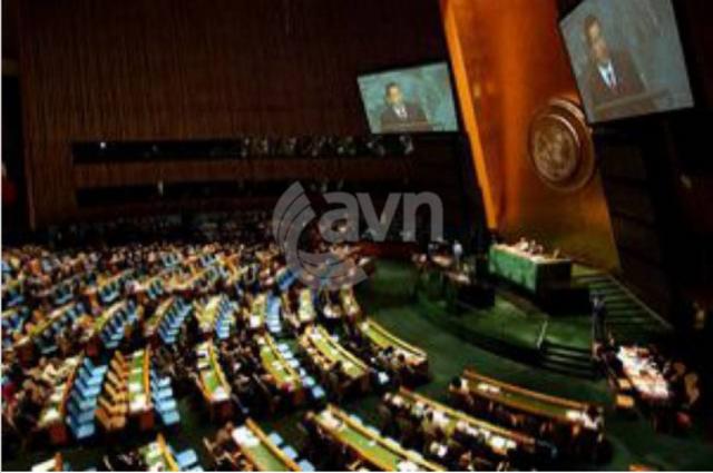 Secretario General de Naciones Unidas, quien logró sentar a las partes en Nueva York