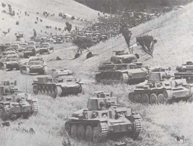 Offensive allemande sur le front Ouest