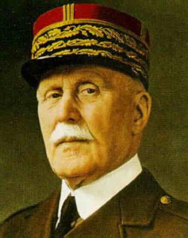 Pétain Président du conseil