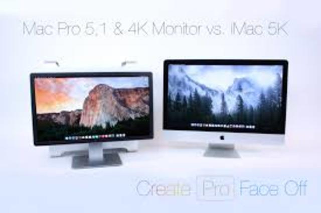 iMac Generaciones 4K y 5K