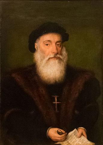 Vasco da Gama llega a la India