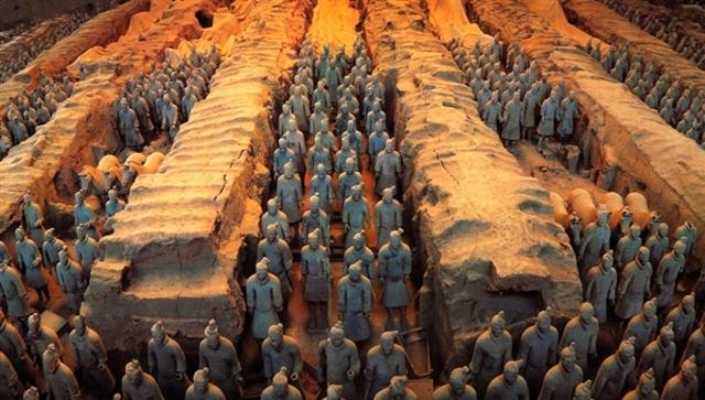 China- Shi Huangdi's tomb (pg.174)