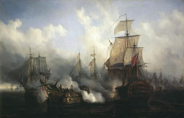 Batalla de Trafalgar - GB domina los mares