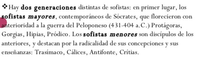 Los sofistas durante los siglos V y IV a.C.