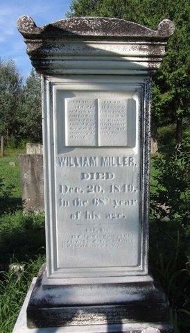 Death of William Miller