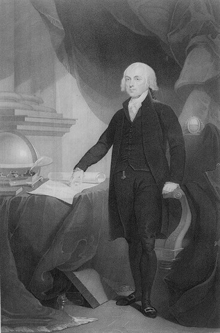 James Madison Takes Office
