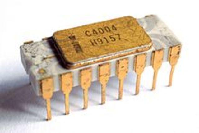 Primer microprocesador de 4 bits - Intel 4004