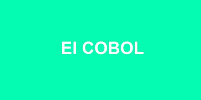 La Creación De El COBOL