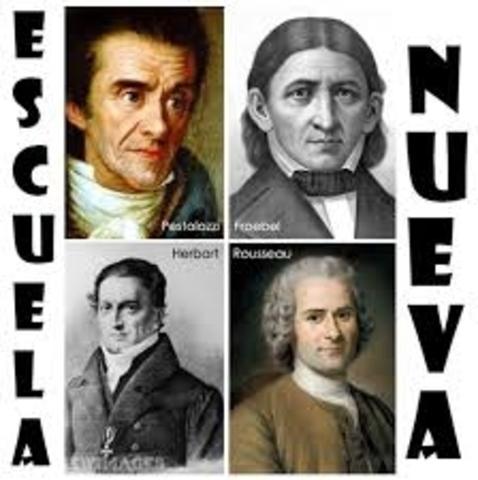 PENSAMIENTO PEDAGÓGICO DE ESCUELA NUEVA